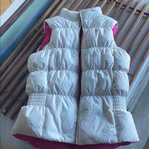 Ralph Lauren women's reversible puffer vest size m